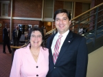 Teresa and NC Senate candidate David Rouzer