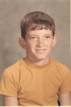 5th Grade at South Highlands Elementary in Opp, Alabama. Check out those ears! My head looks like a '62 Buick with the