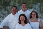 My family at Orange Beach.