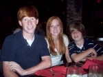 The Scott kids (teens now) at the Grand Hotel in Mobile.